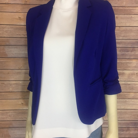 Worthington Jackets & Blazers - Royal Blue Worthington Blazer